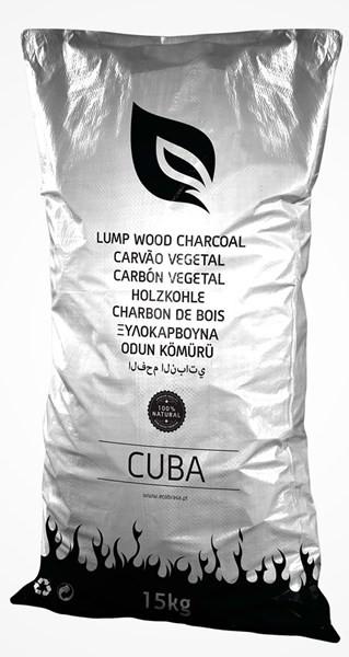 Holzkohle 15KG CUBA