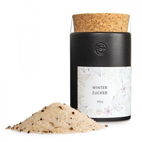 Winterzucker - Keramikdose