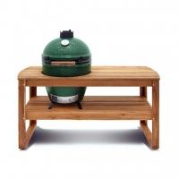 Tisch aus Akazienholz für das Egg Large