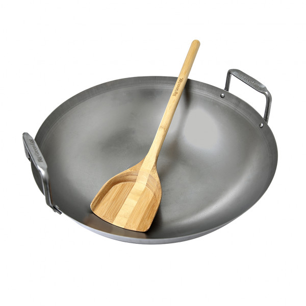 Grill Wok aus Kohlenstoffstahl