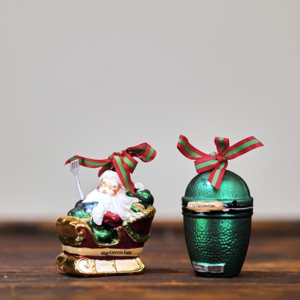 Big green Santa